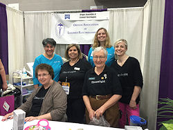 OALE members at the 2016 Women's Expo